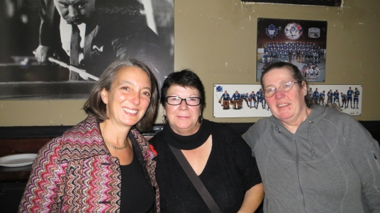 Toronto-Danforth MP Julie Dabrusin stopped by